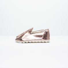 Rose Gold Kid's Loafers