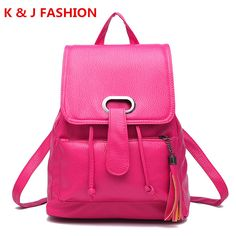 c509587ab58 Fashion Backpack Women Leather Backpack School Bag Rucksacks Mochilas for Travel  Shoulder Bags Satchel Bags Bolsa