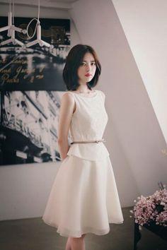 Đầm dự tiệc ren phối voan Zara - MSP: DHQ 02t - Đầm liền | tutushop.vn