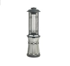 sunglo liquid propane patio heater finish stainless steel a270 ss