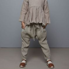 Linen clothing for kids