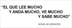Miguel de Cervantes. Obras en la Biblioteca Universitaria de Granada: http://bencore.ugr.es/iii/encore/search/C__Sa%3A%28Cervantes%20Saavedra%2C%20Miguel%20de%29__Orightresult__U?lang=spi&suite=pearl #bibliotecaugr #bugCitasCelebres