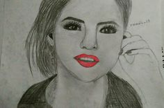 #selenagomez #draw #drawing