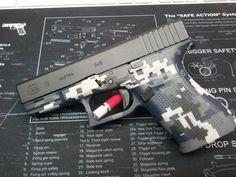 Digital Navy NYU Camo - Glock 19 Gen4 - www.tzarmory.com