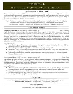 12 accounting resume objective riez sample resumes - Sample Resume Accounting