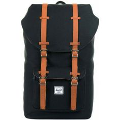 Hershel Little America Backpack bag - Black