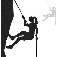 Being A Mom Quotes Discover Silhouette Design Store: Rock Climber - Female Silhouette Design Store - View Design rock climber - female Rock Climbing Cake, Climbing Girl, Wall Painting Decor, Mural Wall Art, Silhouette Painting, Silhouette Design, Baby Remix, Silhouette America, Book Sculpture
