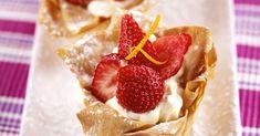 Mascarpone-Törtchen mit Erdbeeren ist ein Rezept mit frischen Zutaten aus der Kategorie Törtchen. Probieren Sie dieses und weitere Rezepte von EAT SMARTER!