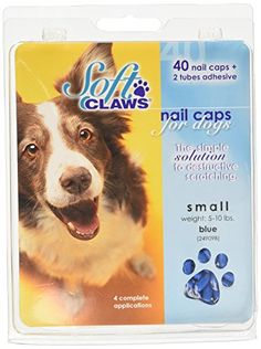 Canine Soft Claws Dog Nail Caps Take Home Kit Small Blue *** Continue to the product at the image link. (Note:Amazon affiliate link) #DogGrooming