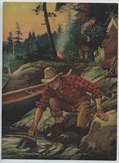 """When A Man's A man"" vintage print by Philip R Goodwin /eBay"