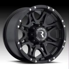 981 RAPTOR BLACK RIM by RACELINE WHEELS