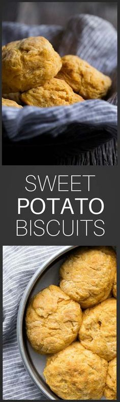 These tender buttermilk biscuits with sweet potatoes have just the right level of sweetness that work as an accompaniment to a variety of dishes. Serve them alongside chili at dinner. For something completely different, try them with pumpkin or apple butter for breakfast!