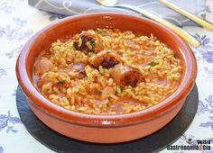 Arroz meloso con butifarra y pimentón ahumado   Gastronomía & Cía