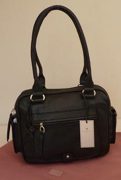 "Radley Black Medium Shoulder Bag - BNWT - ""Gracefield"" - RRP £179 - NEW | eBay"