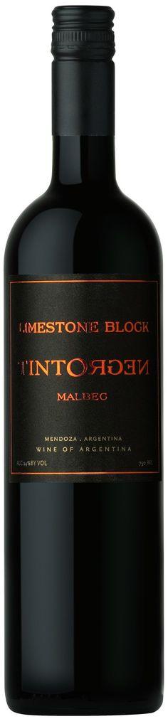 *Limestone Block* Malbec 2012 - Tinto Negro wines, Mendoza---Terroir: Altamira (San Carlos) & El Cepillo (San Carlos) -------------Crianza: 9 meses en barricas de roble francés (10% nuevas)