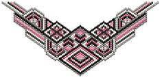 """""""Peyote"""" Mother Kitchen Necklace Pattern by Charley Hughes AKA BeadyBoop at Bead-Patterns.com"""