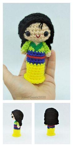 Amigurumi Tiny Japanese Girls Free Pattern – Amigurumi Free Patterns Crochet Geek, Free Crochet, Crochet Hats, Amigurumi Doll, Yarn Colors, Japanese Girl, Free Pattern, Crochet Necklace, Crochet Patterns