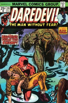 Daredevil and the Black Widow #114. Man-Thing.