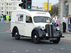 Morris Y Series Ambulance by classic vehicles, via Flickr