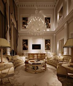 Luxury Living Room| Architecture Luxury Interiors | Rosamaria G Frangini