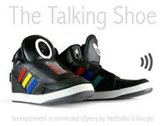 Les baskets connectées de Google / Des chaussures intelligentes et parlantes