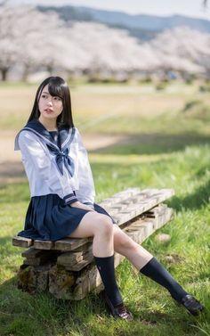 Cute School Uniforms, School Uniform Girls, Girls Uniforms, School Girl Japan, Japan Girl, Beautiful Japanese Girl, Beautiful Asian Girls, Cute Asian Girls, Cute Girls