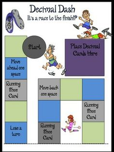 Your fourth and fifth grade students will dash right into decimal understanding with this fun resource! All questions correlate to the common core for each grade. Your students get two decimal games, plus task cards to use in centers, group work, or for individual learning. $