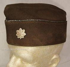 WWII US Lieutenant Colonel General Staff Garrison Cap  OVERSEAS Cap