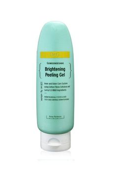 Dr. G's Brightening Peeling Gels formulated with cellulose and bark extract to pill and slough off dead skin. Unlike more abrasive scrubs that contain microbeads or sugar, this gel claims to be more moisturizing and soothing in its gently exfoliating function. #refinery29 http://www.refinery29.com/top-korean-derm-brands#slide-6