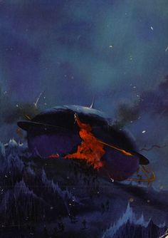 Paul Lehr - Cover for The Stars My Destination by Alfred Bester