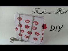 DIY - Clutch inspirado en Candy Crush!!! - YouTube Simple Bags, Easy Bag, Craft Bags, Clutch Purse, Diy Fashion, Diy Projects, Purses, Cool Stuff, Holiday Decor