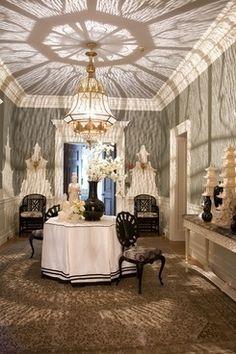 Beverly hills Greystone mansion hallway....