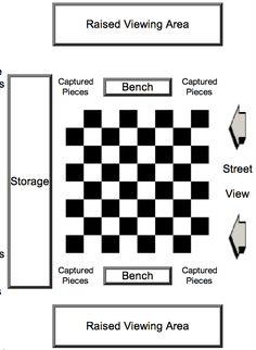 outdoor chess set diagram megachess.com