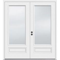 Delicieux JELD WEN 5 Ft 11 1/2 In Low E 1 Lite Composite French Inswing Patio Door  $854.34