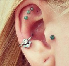 Want to see more cool ear piercing ideas ? Come Visit MyBodiArt