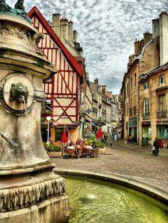 Dijon, Côte d'Or - et ne pas oublier de caresser la chouette....