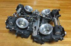 RC30 VFR750R Magnesium flatslide carbs