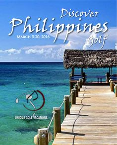 Woohoo! Another new destination announcement for 2016 - We're going back to the Philippines! #uniquegolfvacations #UGV #golf #golfholidays #philippines