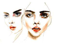 ❋ Faces of Woman ❋ // Karolina Kierat