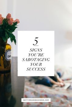 Are you sabotaging your success? small business resources and tips to stay focused as a solo business owner