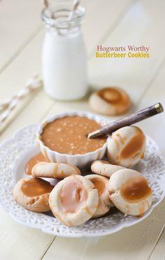 Butterbeer Cookies {Creative Cookie Contest Winner} @FoodBlogs