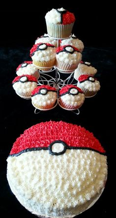 Gotta catch & all—birthday party ideas that is. Plan the perfect Pokémon birthday party, complete with crafts, goodie bags, games, cake and more. Pokemon Birthday Cake, Pokemon Cupcakes, Pikachu Cake, Pokemon Go, Pokemon Party, 6th Birthday Parties, 8th Birthday, Birthday Ideas, Character Cupcakes