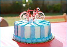 Cute Bike Cake!