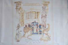 Finished completed Cross stitch - Maria Scharrenburg :Lanarte 29704 - Greek Empire crossstitch counted cross stitch