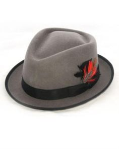 Very wonderful gray hat, you can get  for only US $49.Buy more save more! Buy 3 items get 5% off, Buy 8 items get 10% off.