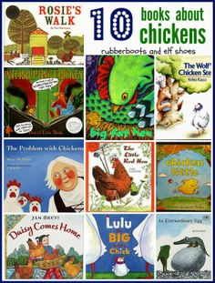 rubberboots and elf shoes: 10 (non-fiction) books about chickens