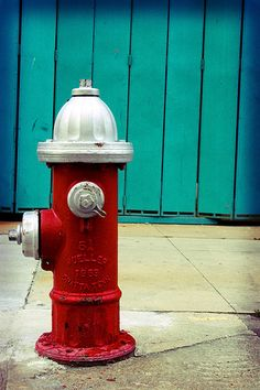 fire hydrant- would be neat to have fire themed things around the Fire Hall to bring back the original concepts