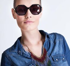 Michel Klein SS2013 Sunglasses #ModeWalk #luxury #fashion #MichelKlein #sunglasses