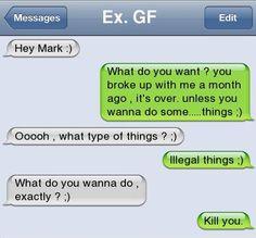 Drunk texting - not such a good idea, hon!