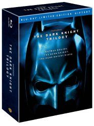 The Dark Knight Trilogy (Batman Begins / The Dark Knight / The Dark Knight Rises) [Blu-ray] Available from CyberTech Movies & Videos CyberTechVideos.com